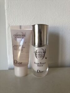 DIOR Capture Totale Super Potent Serum 10ml And Cell Energy Gentle Cleanser 15ml