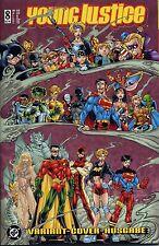 YOUNG JUSTICE #8 VARIANT (deutsch) Batman,Superman,Green Lantern,Flash,League