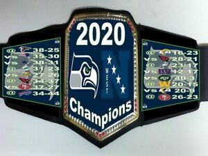 Seattle Seahawks 2020 NFC West Division Champions Championship Belt