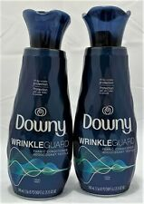 Two (2) 25oz. Bottles Downy Fresh Scent WrinkleGuard Fabric Conditioner Softener