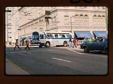 Original Slide Bus, Cts 331, Calgary Alberta Ca, Kodachrome 1974