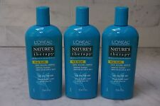 3 PACK. 12 oz. L'Oreal Nature's Therapy Mega Volume Body Building Shampoo. 355ml