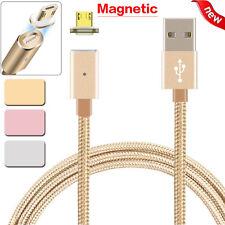 2.4 Micro Carga USB Cable Magnético Adaptador Cargador para Samsung Android Sony