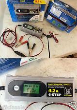 Amperomatic Trainer caricabatteria intelligente 6/12V 4, Ah SCOOTER-AUTO- MOTO-C
