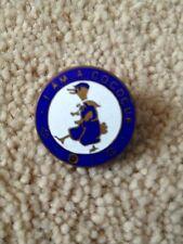 """Enamel Lapel Badge """"I Am A Cococu"""" Club Badge 1940's"""