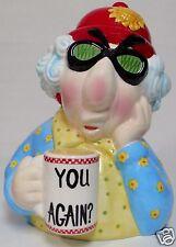 "MAXINE ""you Again?""  Figural Ceramic Cookie Jar - Hallmark"