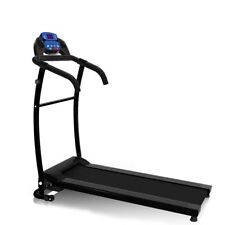 Nero Sport Motorised Folding Treadmill - Black