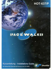 Shuttle Spacewalker Motherboard HOT-637/P Manual & Driver CD Vintage PC