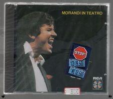 GIANNI MORANDI IN TEATRO CD  SIGILLATO!!!