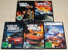 5 PC Giochi Set-allarme per Cobra 11-NITRO Crash Time gruppo ci Highway Nights