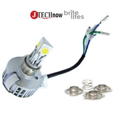 Motorcycle Headlight Hi/Lo beam LED Bulb  Universal with H4 H6 BA20D H6M Adapter
