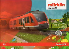 "Marklin 2016 ""My World"" HO Catalogue"