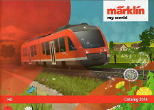 """Marklin 2016 """"My World"""" HO Catalogue"""