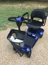 eWheels Electric Portable Medical Mobility Scooter 4 Wheel Blue EW-M34