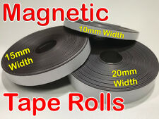 5M Flexible Self Adhesive Magnet Rubber Tape Magnetic Powder Roll Craft Strip