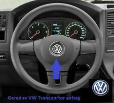 Genuine VW Transporter T5.1 black steering wheel driver airbag 7E0880201Q.   14B