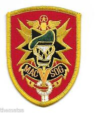 ARMY SPECIAL FORCES MACV SOG VIETNAM EMBROIDERED PATCH