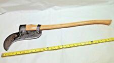 COLLINS Axe / Bush / Brush Hook, Vintage Single Bit Axe, The COLLINS Co., USA