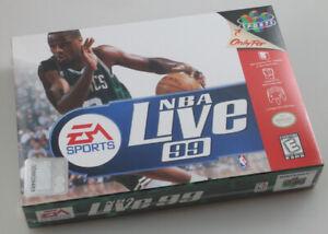 Nintendo 64 N64 - NBA Live 99 - Brand New Factory Sealed