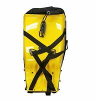 Brand New - Marco Techno Hard Shell Motorcycle, Hiking Backpack Bag Yellow