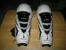 """New listing Ccm Ltp 10"""" Youth Shin Pads White"""