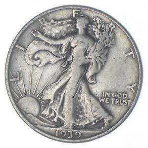 Razor Sharp - 1939-D Walking Liberty Half Dollar - Look it up! *334