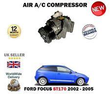 para Ford Focus St170 2.0 2002-2005 A/C CA COMPRESOR DE AIRE ACONDICIONADO