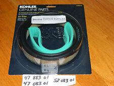 Bolens QT17 Air filter 47 883 01 47 083 01 Genuine Kohler  fits KT Cub Cadet