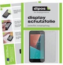 2x Vodafone Smart N8 Protector de Pantalla protectores mate dipos