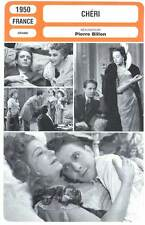 CHERI - Desailly,Chantal,Marken,Billon (Fiche Cinéma) 1950