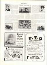 1906 Prof Auer Mischa Elman Ismay Preston Nspcc Fundraising Dance