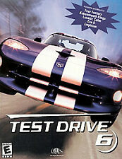 Atari Test Drive 6 PC CD-ROM Racing Game - London Paris (1999)