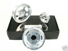 OBX Racing Aluminum Overdrive Pulley Kit Set for 95-98 Nissan 240SX KA24DE 2.4L