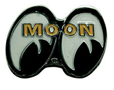 Moon Mooneyes Bolt On Emblem Chrome Logo Metal Grill grille California rod hot A