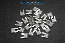(100) PCK ATM 25 AMP FUSES MINI FUSE BLADE STYLE CAR BOAT AUTOMOTIVE AUTO ATM25