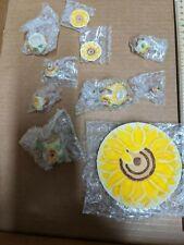1 Set MINIATURE Porcelain Tea Set Sunflower - NEW