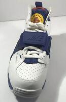 Nike Air Trainer Huarache White/Regency Purple Mens Shoes  Size 9.5 Kith