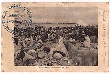 CPA MAROC CASABLANCA - MOUVEMENT DU PORT 1912