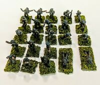 15mm wwii Old Glory Command Decision painted British command.