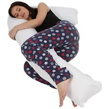 L Shaped Pillow - Best Pregnancy Maternity Use Pillow, Full Comfort Body Support