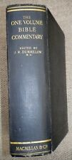 The One Volume Bible Commentary With Articles and Maps 1923 Rev. J R Dummelow