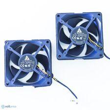 2 x OEM DELTA AUB0812VH Projector FAN 80 x 80 x 25 mm Cooler Cooling 12V 4 pin