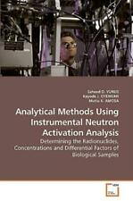 Analytical Methods Using Instrumental Neutron Activation Analysis