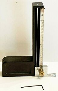 LEICHTUNG MULTI-HEIGHT MEASURING GAUGE; TABLE SAW BLADE HEIGHT +ROUTER BIT DEPTH