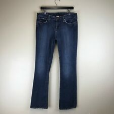 Lucky Brand Jeans - Lola Boot Dark Distressed Wash - Tag Size: 12 (33x33) #6208
