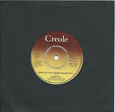 Boney M:Baby do you wanna bump (Pt I and II): UK Creole: 1975