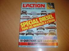 action auto N°244 Spécial Diesel