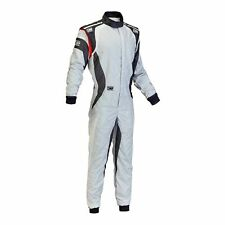 OMP ONE EVO Size 58 GREY/WHITE/BLACK 3 LAYER RACE SUIT