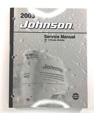 2003 Johnson Service Manual ST 4 Stroke 6 8 HP Outboard Motor 5005471