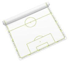Taktifol Taktikfolie für Fussball Rolle mit 25 Blatt Alternative für Taktiktafel